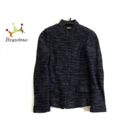 セオリーリュクス theory luxe ジャケット サイズ38 M レディース 美品 ネイビー×黒 ラメ   スペシャル特価 20190807