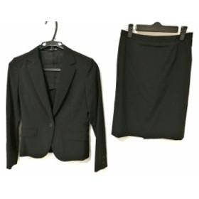 コムサデモード COMME CA DU MODE スカートスーツ レディース 黒【中古】