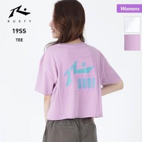 RUSTY/ラスティ レディース 半袖 Tシャツ ティーシャツ ロゴ 939513