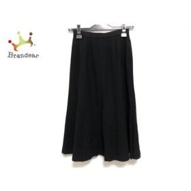 レリアン Leilian ロングスカート サイズ9 M レディース 黒   スペシャル特価 20190901