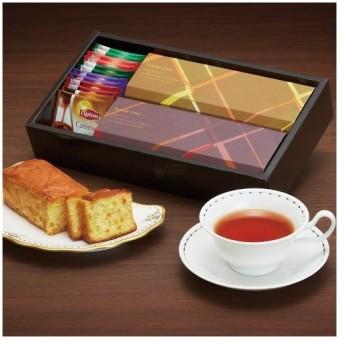 ブランデーケーキ&紅茶