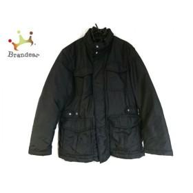 ジェオックス GEOX ダウンジャケット サイズ42 L メンズ 美品 黒 冬物 新着 20190525