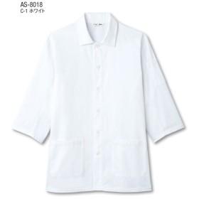 白衣 七分袖 AS-8018 チトセ TWOACE ツーエースカツラギ 綿70%ポリエステル30% 寿司店 割烹 料亭 和食ユニフォーム