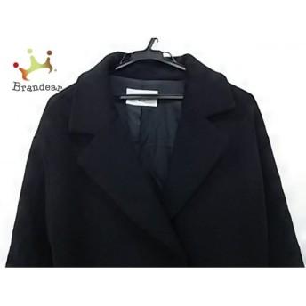 ルクールブラン le.coeur blanc コート サイズ38 M レディース 黒 冬物 新着 20190524【人気】