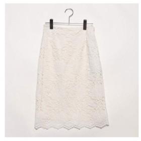 イェッカヴェッカ  YECCA VECCA outlet レースタイトスカート (オフホワイト)