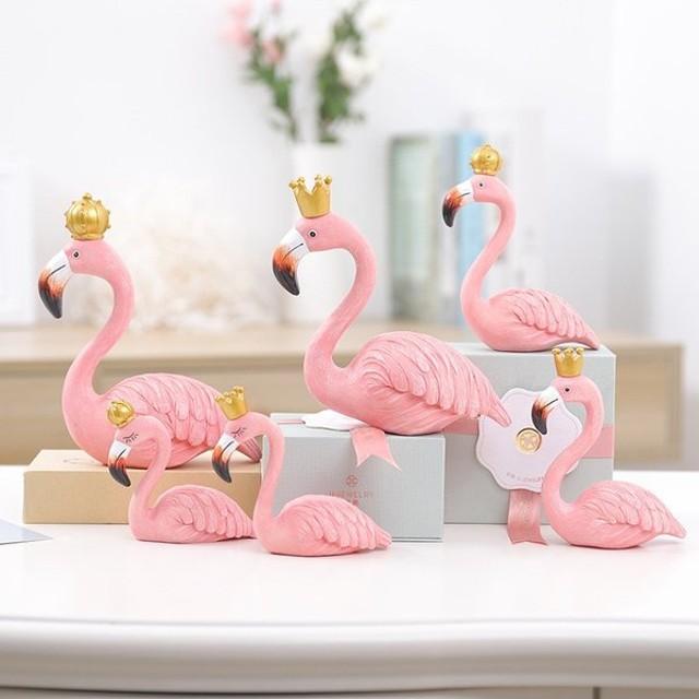 フラミンゴ 置き物 雑貨 オブジェ 小物 ピンク 鳥 テーブル リビング 玄関 リゾート 南国 南の島 飾り インテリア雑貨