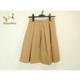 ジャスグリッティー JUSGLITTY スカート サイズ2 M レディース 美品 ライトブラウン   スペシャル特価 20190831