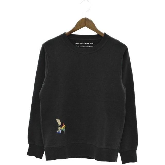 hot sales 5e4af 03d6c BALENCIAGA(バレンシアガ)13AW ワンポイント刺繍トレーナー ...