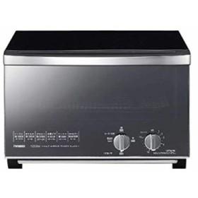 ツインバード Twinbird ミラーガラスオーブントースター ブラック TS-D048B