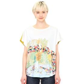 [マルイ]【セール】【レディース】コラボレーションTシャツ/ぞうのエルマーぞうのエルマー(ぞうのエルマー)/グラニフ(graniph)