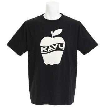 カブー(KAVU) アップルTシャツ Bk XLサイズ 19820233001009 (Men's)