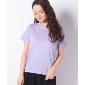 (koe/コエ)オーガニック超長綿Tシャツ/レディース パープル