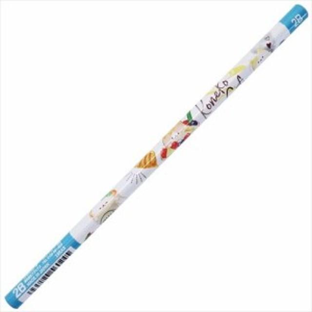 鉛筆 丸軸 えんぴつ 2B ハニー コネコカフェ 新学期 準備 雑貨 かわいい グッズ メール便可