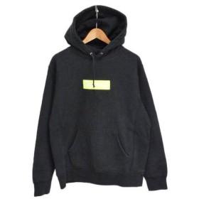 SUPREME(シュプリーム)17AW Box Logo Hooded Sweatshirt ボックスロゴプルオーバーパーカー ブラック