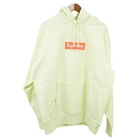 SUPREME(シュプリーム)17AW Box Logo Hooded Sweatshirt ボックスロゴプルオーバーパーカー グリーン【中古】