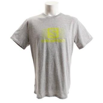 サロモン(SALOMON) 【多少の汚れ等訳あり大奉仕】ブレンドロゴ 半袖Tシャツ L39373800 (Men's)