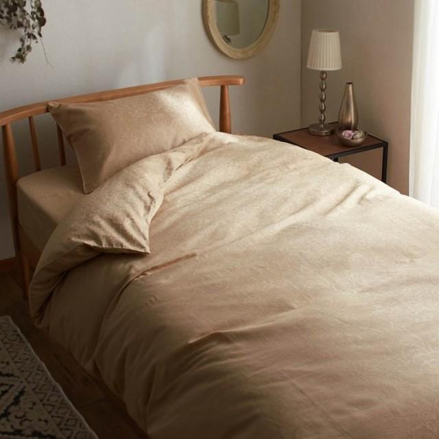 綿100%サテンジャカード織の掛け布団カバー