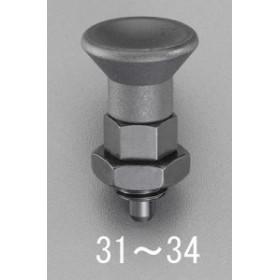 [EA948DD-31] M10x5mm インデックスプランジャー (ダブルナット) EA948DD31【キャンセル不可】