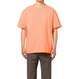 【オンワード】 OPENING CEREMONY MENS(オープニングセレモニー メンズ) 【洗える】NEON COLOR T-SHIRT / ネオンカラーTシャツ オレンジ L メンズ 【送料無料】