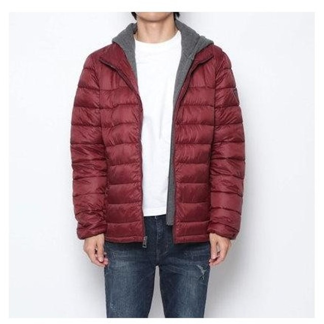 ゲス GUESS PACE HOODED JKT (MRNR)