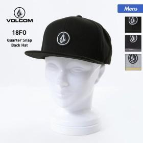 VOLCOM/ボルコム メンズ キャップ 帽子 ぼうし フラットバイザー 平つば スナップバック サイズ調節可 D5511561