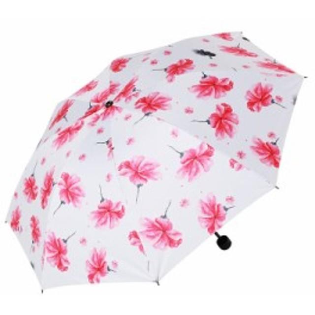 2点送料無料【晴雨兼用】自動開閉!遮光日傘 軽量 紫外線対策 遮熱 遮光3 折り畳み 日傘 高強度8本骨 折りたたみ日傘 5-15-3