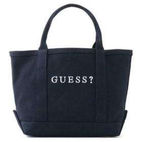 ゲス GUESS SMALL CANVAS TOTE BAG【JAPAN EXCLUSIVE ITEM】 (NAVY)