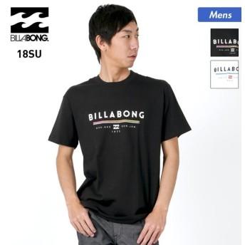 BILLABONG/ビラボン メンズ 半袖 Tシャツ ティーシャツ トップス クルーネック ロゴ AI011-258