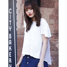 [dazzlin]バックフレアTシャツ