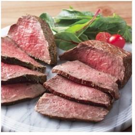 高橋畜産食肉 [農場HACCP認証]蔵王牛ローストビーフ プレーン×バジル 各約200g z-rb-p/b400g