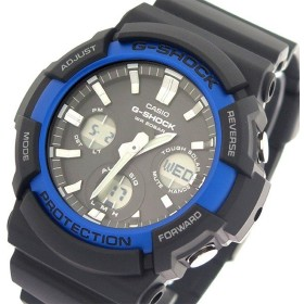 カシオ CASIO Gショック G-SHOCK タフソーラー クオーツ メンズ 腕時計 GAS-100B-1A2 ブラック ブラック ブラック