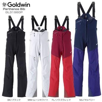 19-20 NEWモデル GOLDWIN〔ゴールドウィン スキーウェア レディース パンツ〕<2020>Parthenos Bib GL31960P【GORE-TEX】