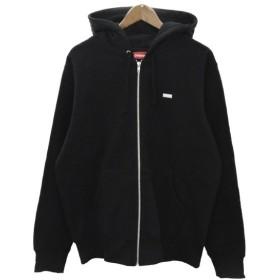 SUPREME(シュプリーム)18AW Reflective Small Box Zip Up Sweatshirt スモールボックスロゴ ジップパーカー