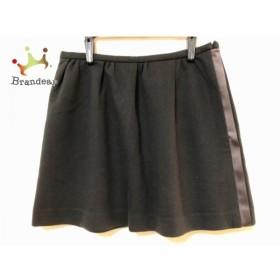 ダブルスタンダードクロージング DOUBLE STANDARD CLOTHING スカート サイズ38 M レディース 黒 新着 20190525