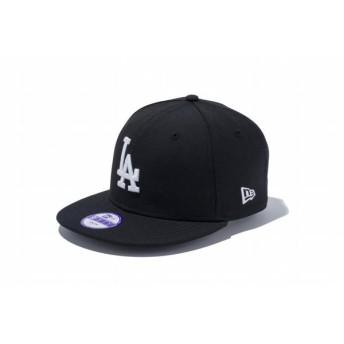 ニューエラ(NEW ERA) Youth 9FIFTY ロサンゼルス・ドジャース ブラック × ホワイト 11308491