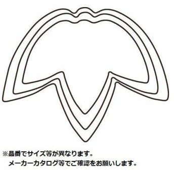 カンダ 05-0259-0201 野菜抜 竹 小 #1 (0502590201)
