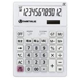 (まとめ買い)ジョインテックス 大型電卓 ホワイト K070J 【×3セット】