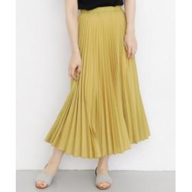 KBF(ケービーエフ) スカート スカート ジオメトリックパターンプリーツスカート