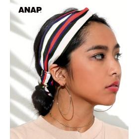 【セール開催中】ANAP(アナップ)ストライプヘアーバンド