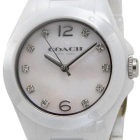43590ac006 コーチ COACH レディース 腕時計 14502154 Tristen Mini Ceramic トリステン ミニ セラミック ピンクシェル  クリスタルストーン10P