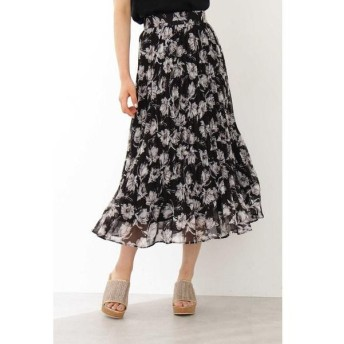 PROPORTION BODY DRESSING / プロポーションボディドレッシング  ◆フラワープリーツロングスカート