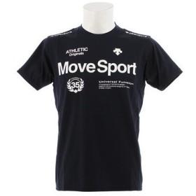 デサント(DESCENTE) サンスクリーンハイブリッドシャツ DMMNJA56 NV (Men's)