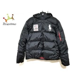 ポロラルフローレン ダウンジャケット サイズXL メンズ 美品 ビッグポニー 黒 冬物 新着 20190525