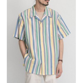 【40%OFF】 アーバンリサーチ FREEMANS SPORTING CLUB SHORT SLEEVE SHIRTS メンズ STRIPE S 【URBAN RESEARCH】 【セール開催中】