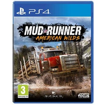 Spintires: MudRunner - American Wilds Edition (PS4) (輸入版)