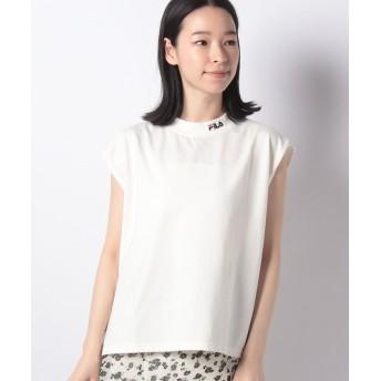 【21%OFF】 レトロガール FILAロゴ刺繍ノースリ レディース ホワイト M 【RETRO GIRL】 【セール開催中】