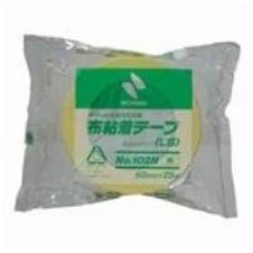 (まとめ買い)ニチバン カラー布テープ 102N-50 50mm×25m 黄色 【×10セット】