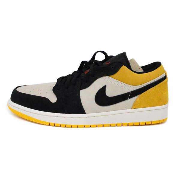NIKE(ナイキ)19ss AIR JORDAN 1 LOW UNIVERSITY GOLD 553558 127