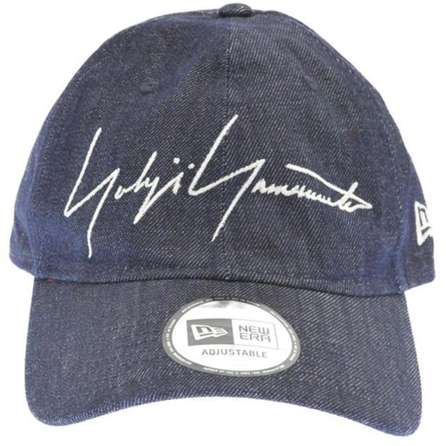 Yohji Yamamoto(ヨウジヤマモト)19SS ×NEW ERA 59FIFTY DENIM YY CAP デニムベースボールキャップ インディゴ