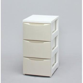 アイリスオーヤマ スリムチェスト CODシリーズ ホワイト/アイボリー COD-323(代引き不可)